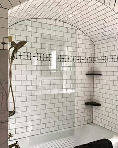 Vintage-Glam-Subway-Tile-Arch-Glass-Door