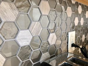 Hex-Backsplash